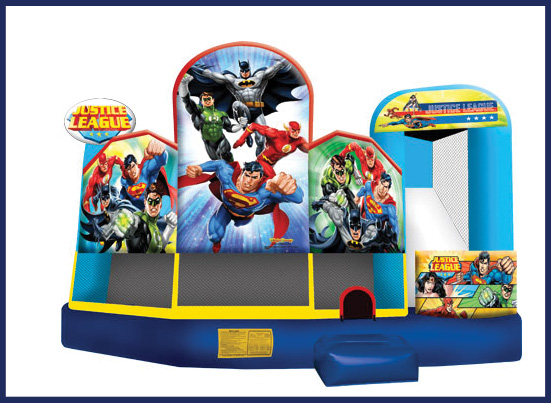 Justice League Inflatable Bouncer