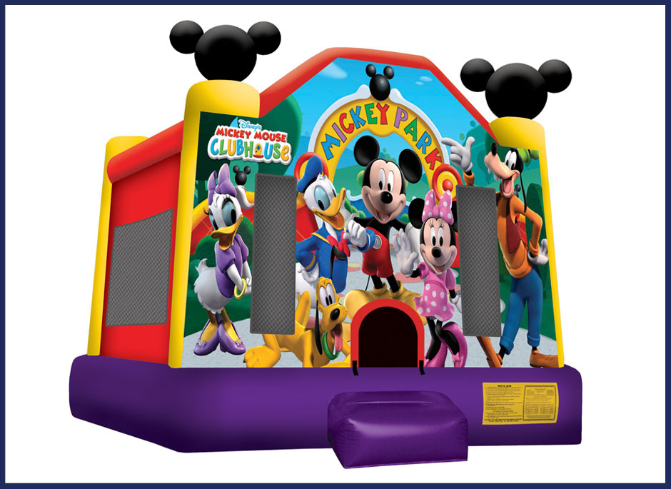 Mickey Park Bounce House