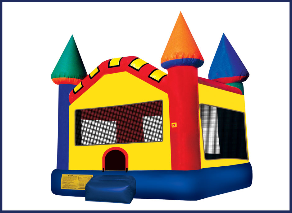Party Castle Inflatable Bouncer Ibounce Rental