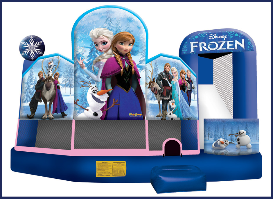 Disney Frozen 5N1 Bounce House and Slide Combo