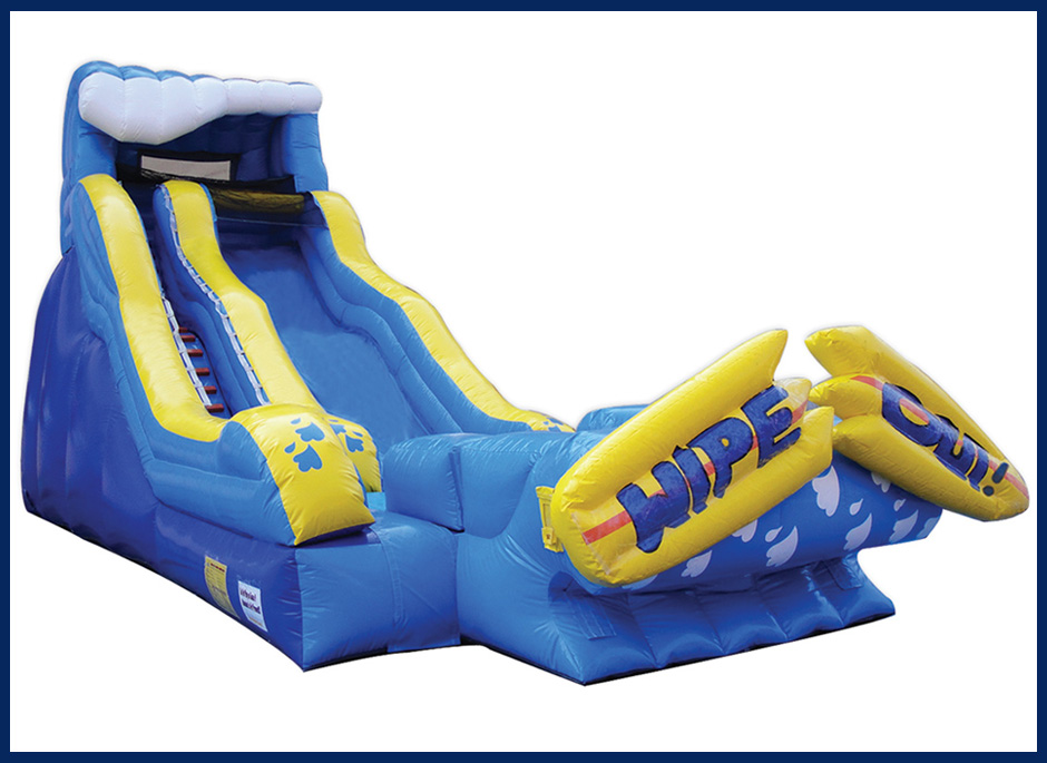 Wipeout Water Slide