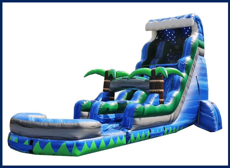 Blue Crush Tsunami Water Slide