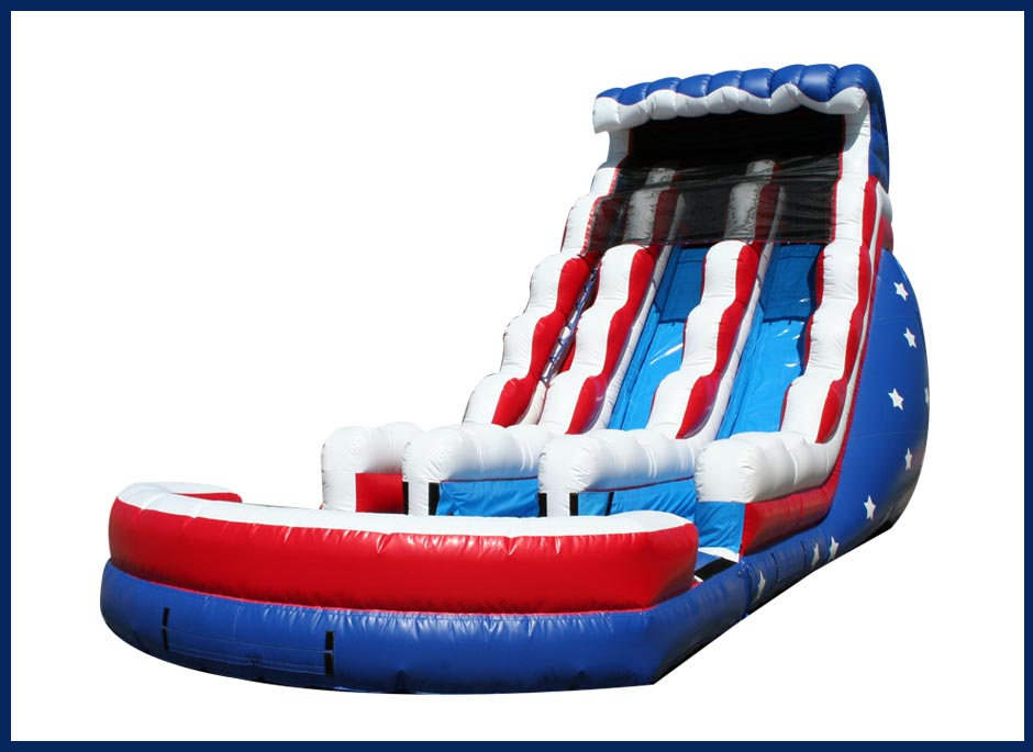 Stars and Stripes Water Slide