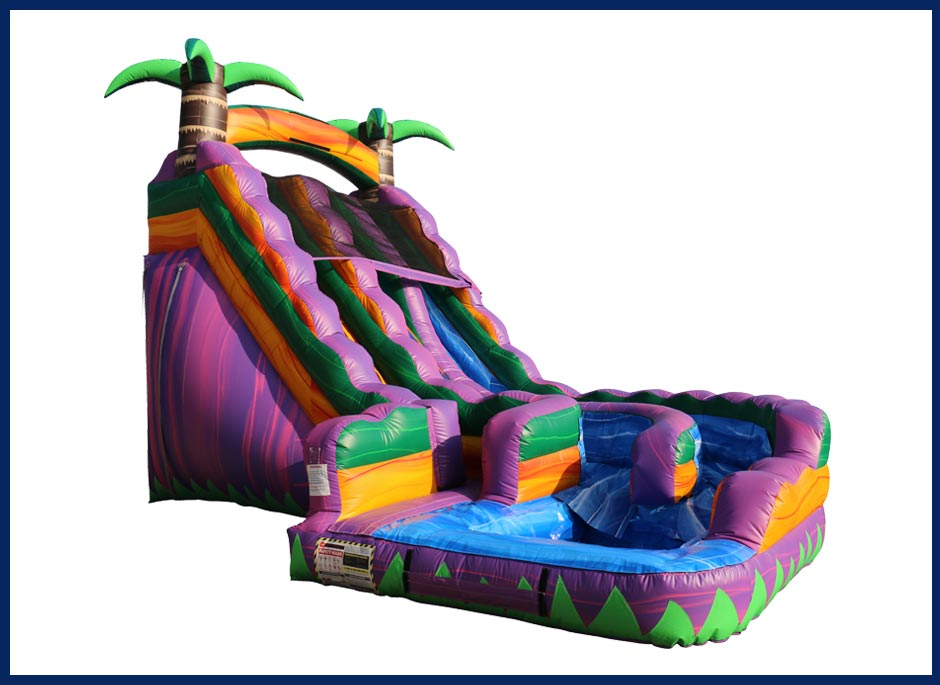 Tropical Twist Water Slide